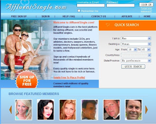 Affluent Singles dating