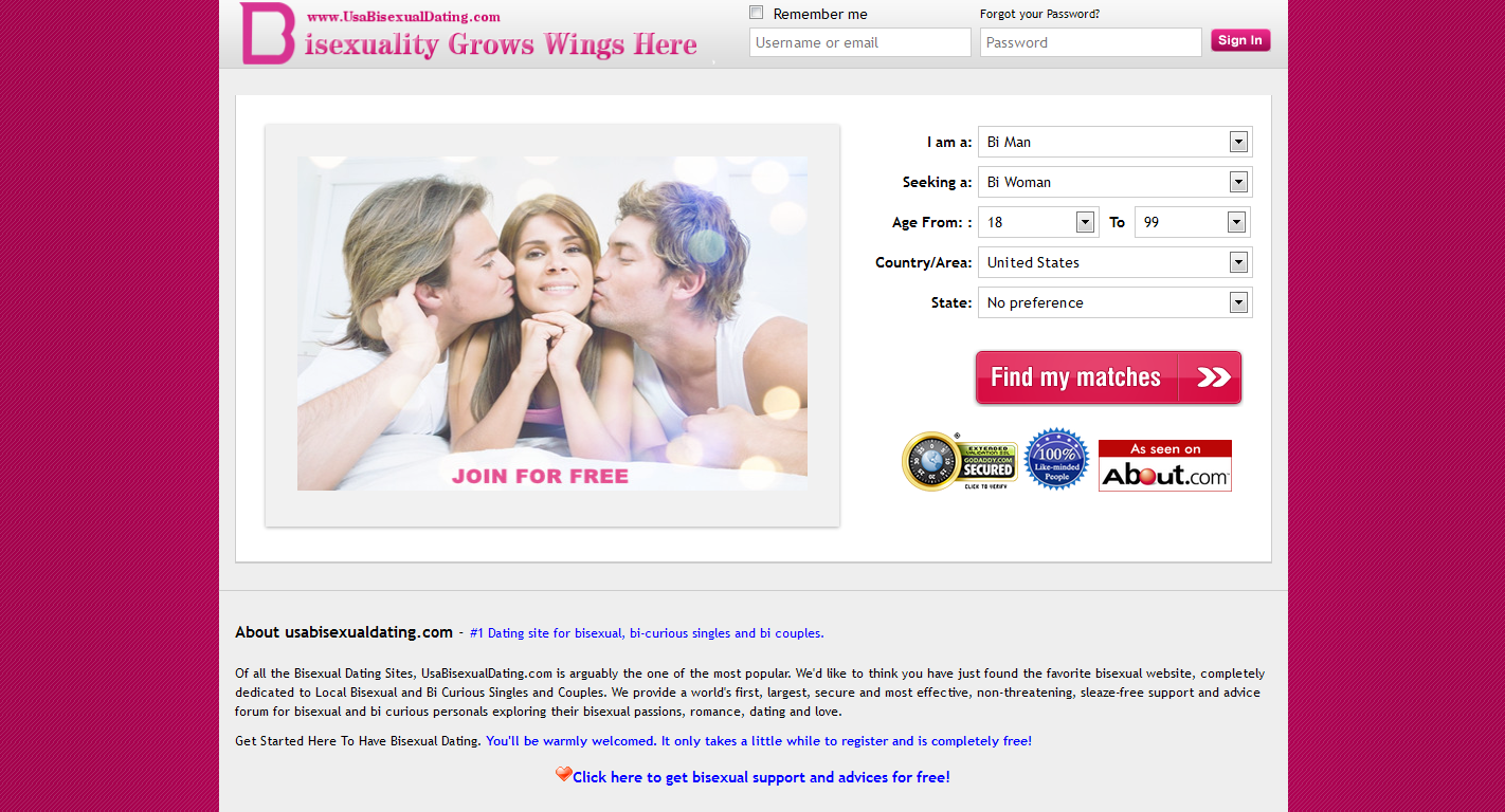 The Top Ten  Bisexuals & Bi-curious Online Dating Sites