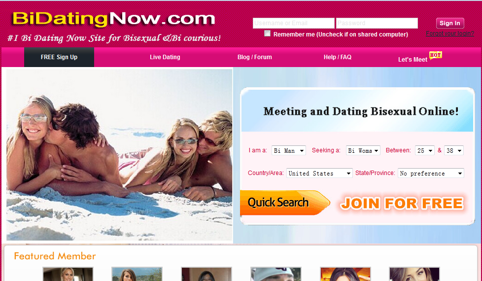 The Top Ten  Bisexual Dating Sites