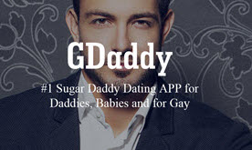New App GDaddy Made Its World Debut For Gay Sugar Daddy and Gay iOS: